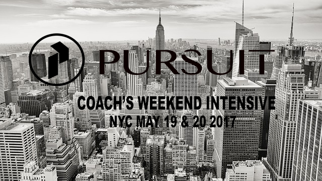 PURSUIT Coach's Weekend Intensive