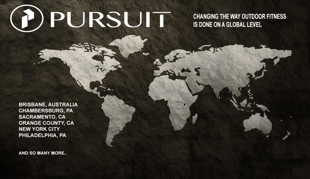 PURSUIT locations worldwide