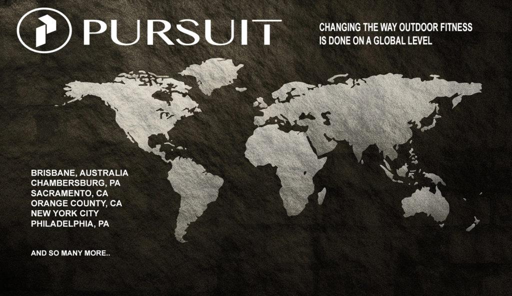 PURSUIT locations worldwide